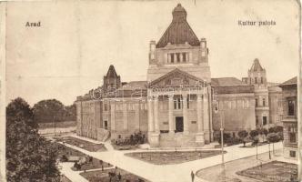 Arad, Kultúrpalota / palace of culture (EK)