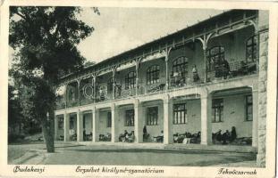 Budakeszi, Erzsébet királyné-szanatórium, Fekvőcsarnok