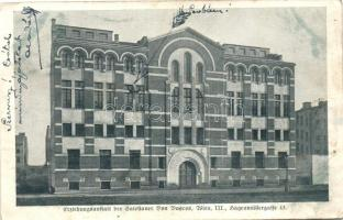 Vienna, Wien, Bécs; Erziehungsanstalt der Salesianer Don Boscos / boarding school, educational institution (EB)