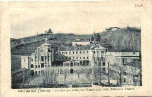 Torino, Valsalice, Veduta generale del Seminario delle Missioni Estere / general view, seminary, Estere mission (fa)