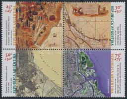 The development of cartography block of 4, A térképészet fejlődése négyestömb