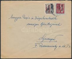 1946 (15.díjszabás) Távolsági levél Betűs Távolsági levél/18f + Csomag 10 kg/30f bérmentesítéssel