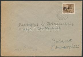 1946 (7. díjszabás) Távolsági levél korábbi díjszabás szerint bérmentesítve az új díjszabás első napján