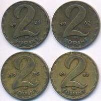 1974-1989. 2Ft (15xklf), az 1986-os veret hiányzik T:2,2-