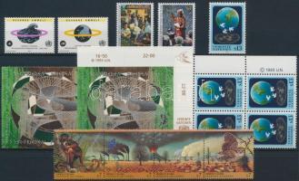 1993 21 db bélyeg, közte sorok és négyestömbök