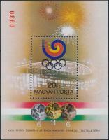 Olympic medalists (V.) block present of the post, Olimpiai érmesek (V.) Szöul ajándék blokk
