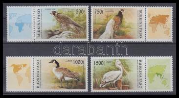 Birds set with coupon, Madarak szelvényes sor