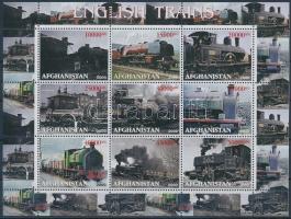 Afganisztán 2000 Vasút 9é kisív