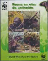 WWF: Giant Otter block, WWF: Óriásvidra blokk