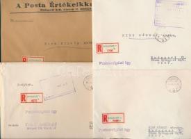 12 db postaszolgálati boríték a 60-as 70-es évekből