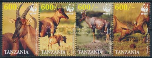WWF Antelope set stripe of 4, WWF antilop négyescsík
