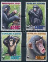 WWF Chimpanzees set, WWF: Csimpánzok sor