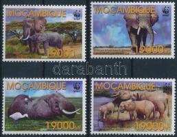 2002 WWF Afrikai elefánt sor Mi 2393-2396