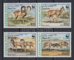 1998 WWF: Urial sor párokban Mi 1819-1822