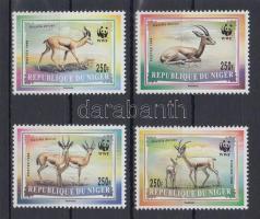 1998 WWF Gazella sor Mi 1460-1463