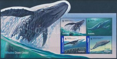WWF Whales block, WWF Bálnák blokk