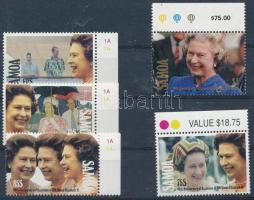 Queen Elizabeth II. margin set, II. Erzsébet királynő ívszéli sor