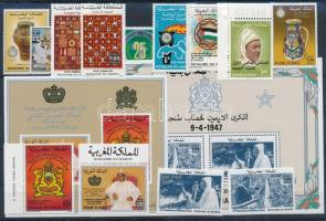 1983-1988 13 db bélyeg + 2 db blokk