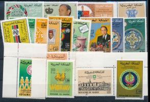 1981-1986 18 db bélyeg, közte párok