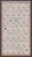 2014 Elnökök teljes ív Mi 3544-3577