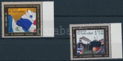 Panama függetlenségének évfordulója ívszéli sor Panama's independence anniversary margin set