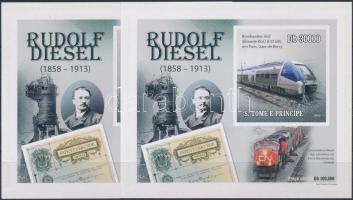 Rudolf Diesel: Diesel locomotives de Luxe blockset, Rudolf Diesel: Dízel mozdonyok de Luxe blokksor