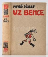 Nyirő József: Uz Bence. Budapest, 1936, Révai KIadás. Kiadói halinakötés, kissé kopottas, kissé foltos borítóval.