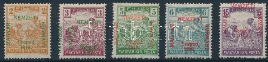 Szeged 1919 Arató sor Bodor vizsgálójellel (13.700) (6f falcos / hinged)