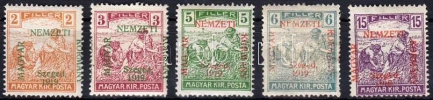 Szeged 1919 Arató sor Bodor vizsgálójellel (9.100)