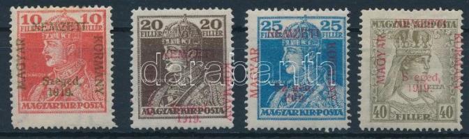 Szeged 1919 Károly-Zita sor Bodor vizsgálójellel (11.500)
