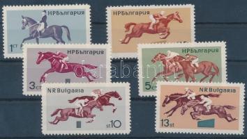 Horse racing set, Lóverseny sor