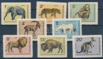 1966 Állatok sor Mi 1618-1625