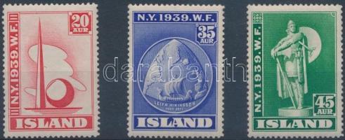 World's Fair, New York 3 stamps Világkiállítás, New York 3 érték