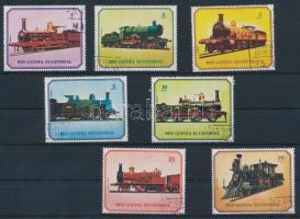Locomotive set, Mozdony sor