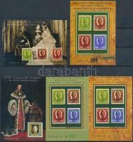 2001/51-54 85 éve koronázták meg IV. Károlyt színes és fekete próbanyomat, betűtípusokkal + 53 összehasonlító MINTA