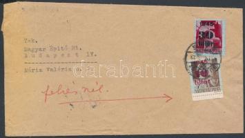 1945 (2. díjszabás) Nyomtatvány 10 grammig 40f bérmentesítéssel
