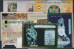 2002-2013 7 klf emlékív (~16.000)