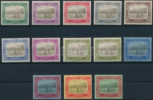 Forgalmi sor záróérték nélkül (2 x Mi 59) Definitive set without closing value (2 x Mi 59)