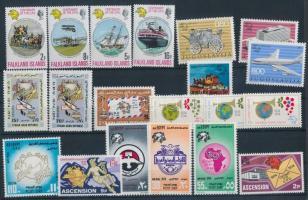 Centenary of UPU 37 stamps, 100 éves az UPU 37 db bélyeg