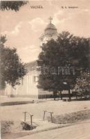 Vecsés, Római Katolikus templom, kiadja a Minár Gyula tőzsde