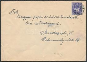 Inflation cover, (12. díjszabás) Helyi levél Lovasfutár 80eP bérmentesítéssel