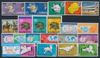 Centenary of UPU 34 stamps, 100 éves az UPU 34 db bélyeg