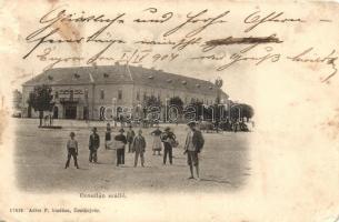 Érsekújvár, Nové Zámky; Arany Oroszlán szálloda, Adler F. üzlete; Adler F. kiadása / hotel (EM)