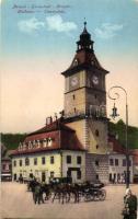 Brassó, Kronstadt, Brasov; Tanácsház / town hall (EK)