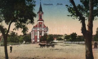 Várpalota, Fő tér, templom (Rb)