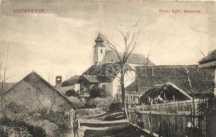 Kisterenye, Bátorterenye; Római katolikus templom, utca (Rb)