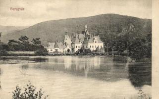 Beregvár, Schönborn kastély; kiadja Bertsik Emil / castle (EB)