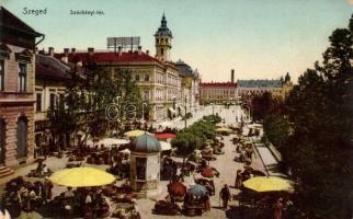Szeged, Széchenyi tér, piac
