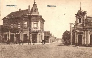 Dombóvár, Jókai utca, üzletek