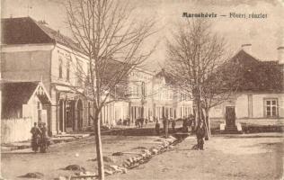 Maroshévíz, Toplita; Fő tér / Main square (fa)
